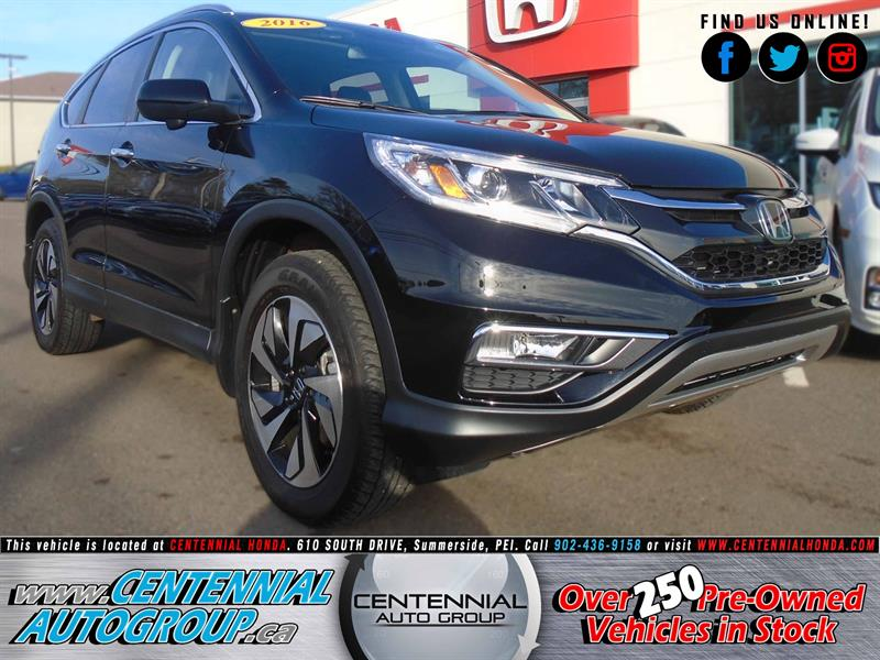 2016 Honda CR-V Touring | AWD | 2.4L | Navi | Honda Plus #8831A