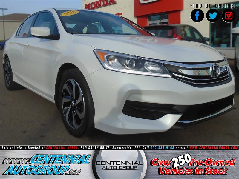 2016 Honda Accord Sedan LX | 2.4L | Honda Sensing | Honda Plus | AC #8922A