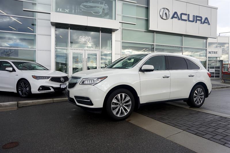 2016 Acura MDX SH-AWD 4dr Nav Pkg #796425A