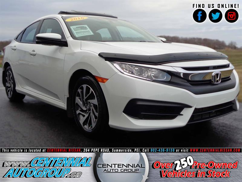 2016 Honda Civic Sedan EX | 2.0L | Bluetooth | Cruise Control #SP17-030A