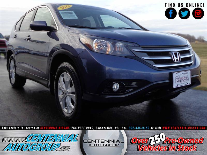 2012 Honda CR-V EX-L | AWD | 2.4L | Bluetooth | Cruise Control #SP17-040A