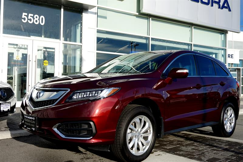 2017 Acura RDX AWD 4dr Tech Pkg Camera Bluetooth Leather #856204A