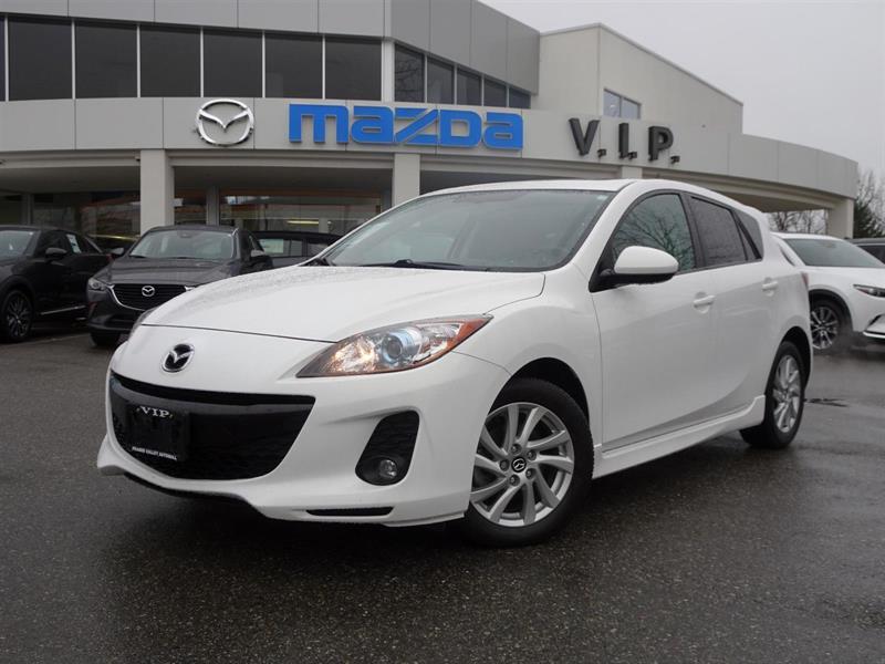 2013 Mazda MAZDA3 AUTO, LEATHER, ROOF, BOSE #7437A