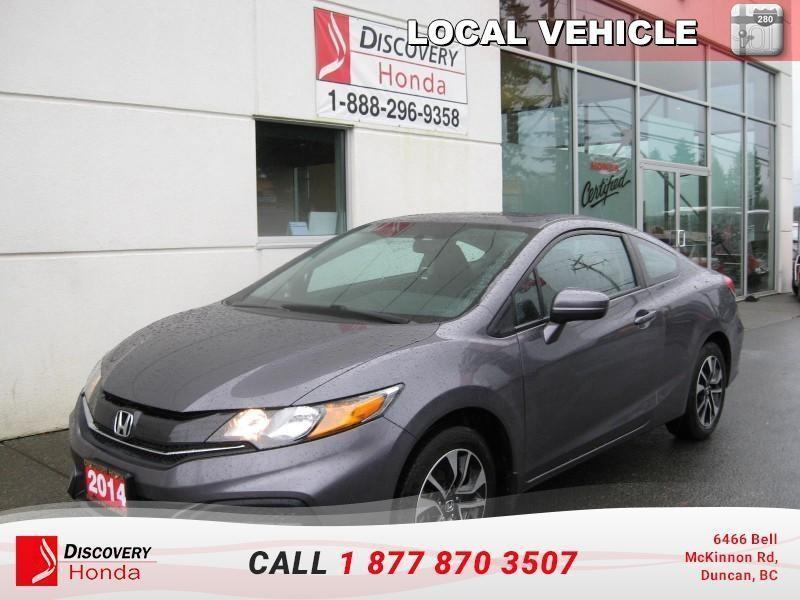 2014 Honda Civic Coupe Coupe EX 5MT  - one owner #B2640A