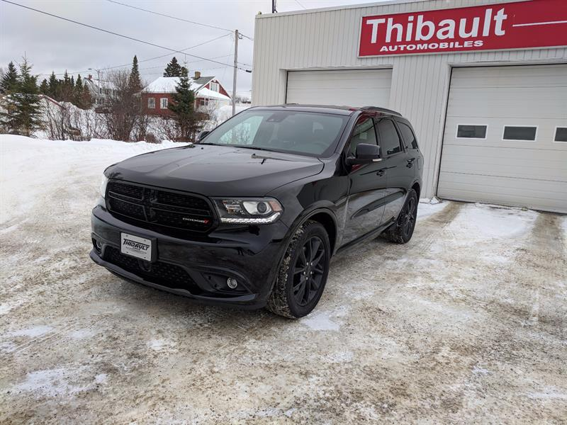 dodge durango awd 4dr r t 2017 occasion vendre amos chez thibault chrysler dodge jeep ram. Black Bedroom Furniture Sets. Home Design Ideas