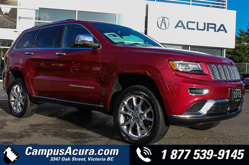 2015 Jeep Grand Cherokee 4WD 4dr Summit #17-7319A