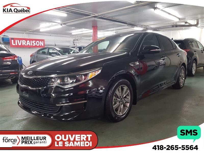 2016 Kia Optima LX* ECO* TURBO* HITCH* VOLANT CHAUFFANT* #K170758A