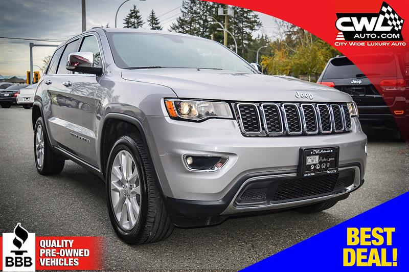 2017 Jeep Grand Cherokee 4WD 4dr Limited #CWL8168M