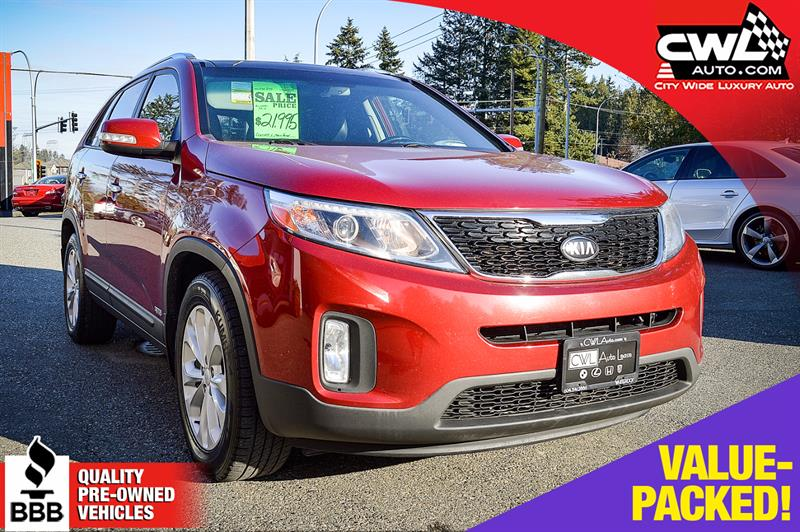 2014 Kia Sorento EX  AWD  LEATHER  SUNROOF #CWL8162M
