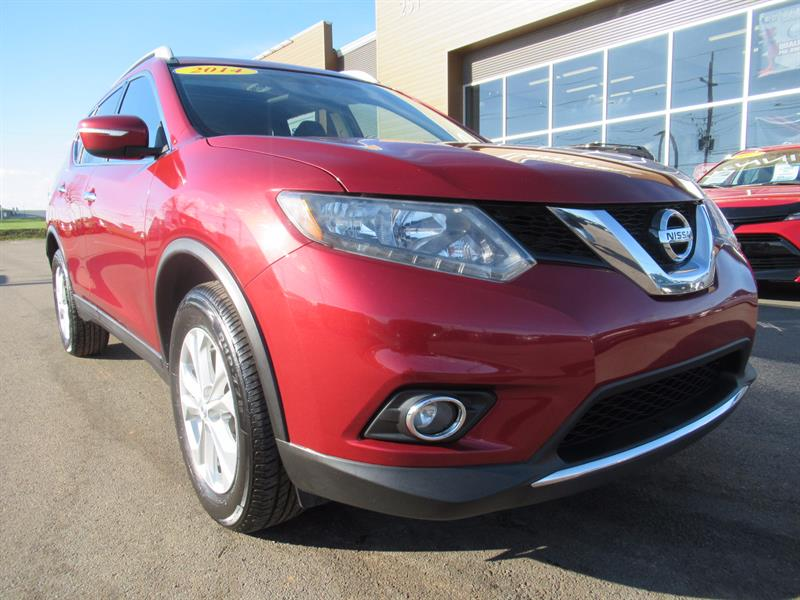 2014 Nissan Rogue SV AWD | Dual Sunroof | Heated Seats #U9918