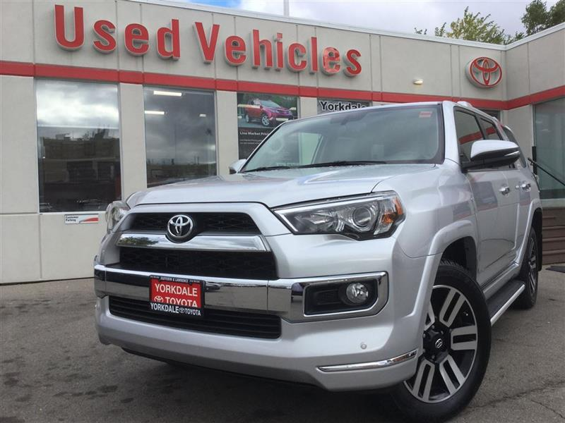 2016 Toyota 4Runner LIMITED-BLUETOOTH, NAV, BACKUP CAM, SUNROOF, ALLOY #P6774