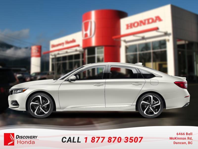 2018 Honda Accord Sedan Sport CVT  - Sunroof -  H #18-063