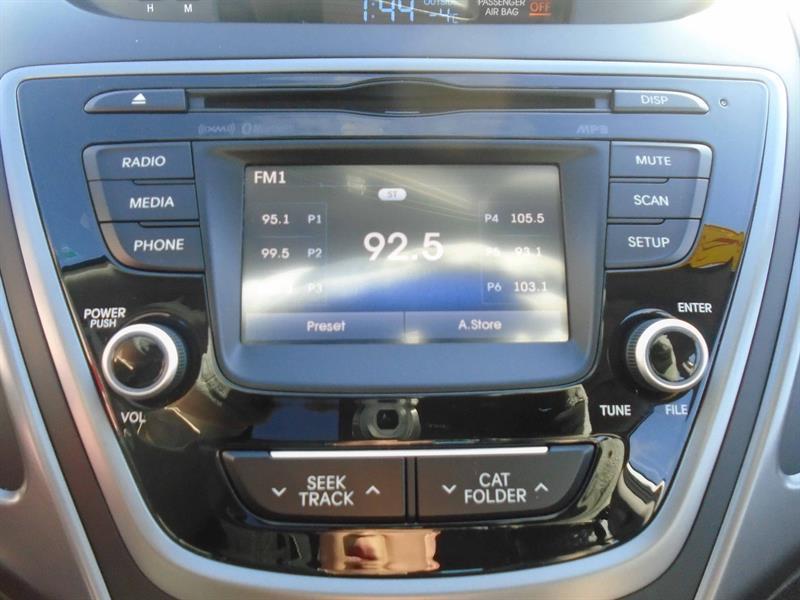 2016 Hyundai Elantra Sport 1 8l Bluetooth Backup