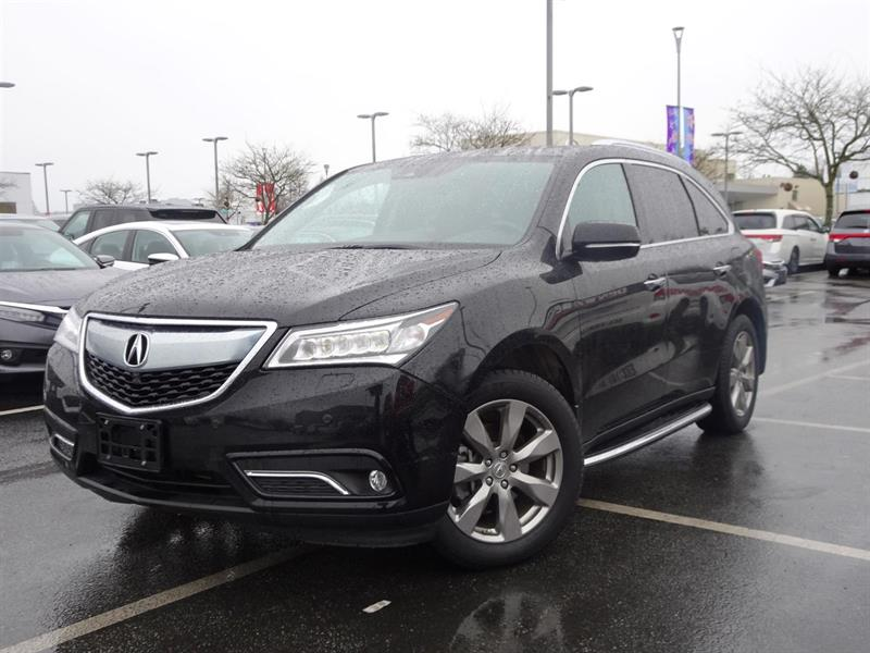 2016 Acura MDX Elite AWD! Balance Of Factory Warranty! #LH7802