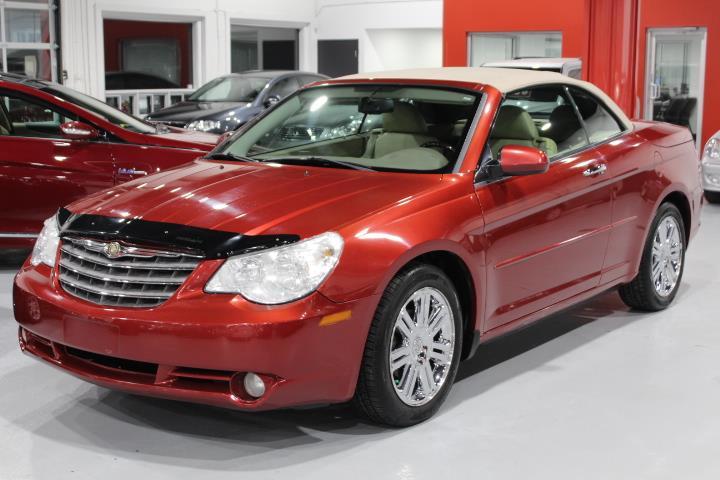 Chrysler Sebring 2008 LIMITED 2D Convertible #0000000411