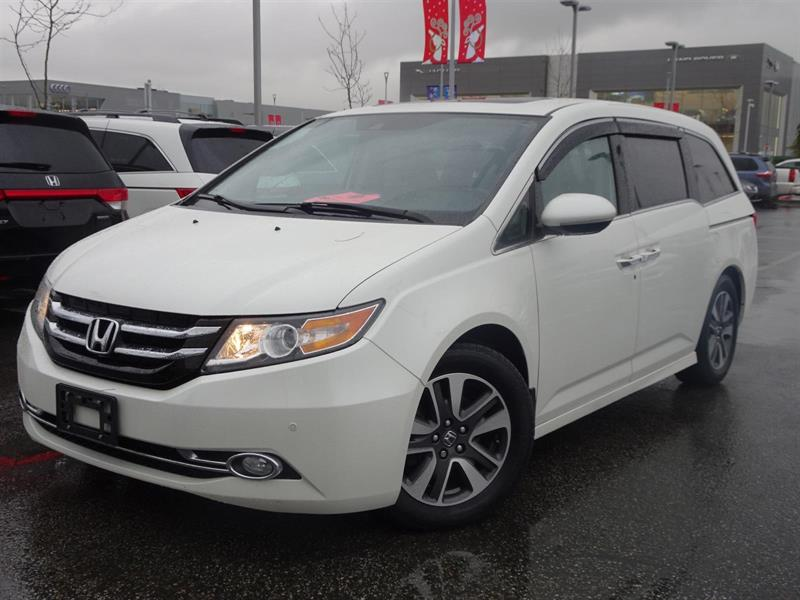 2015 Honda Odyssey Touring! Honda Certified Extended Warranty to 120, #LH7814
