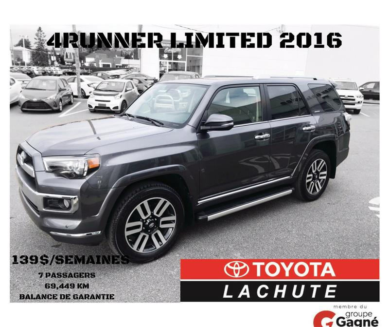 Toyota 4Runner 2016 LIMITED #U-744