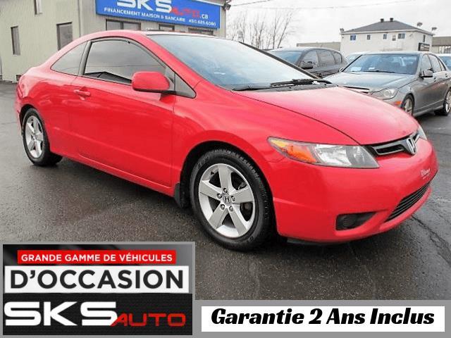 Honda Civic Cpe 2006 EX (GARANTIE 2 ANS INCLUS) *FINANCEMENT MAISON* #SKS-3974-