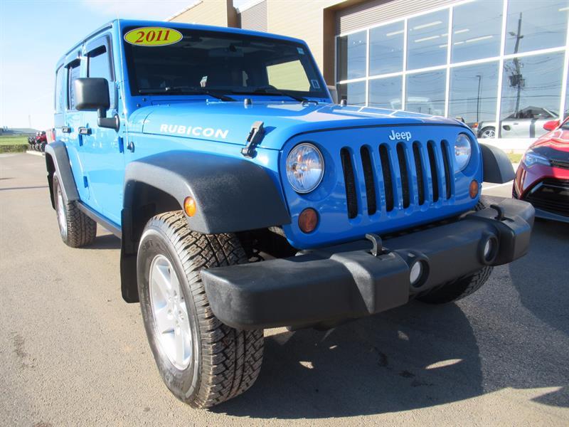 2011 Jeep Wrangler Unlimited Rubicon 4x4   6 Speed Manual #U404