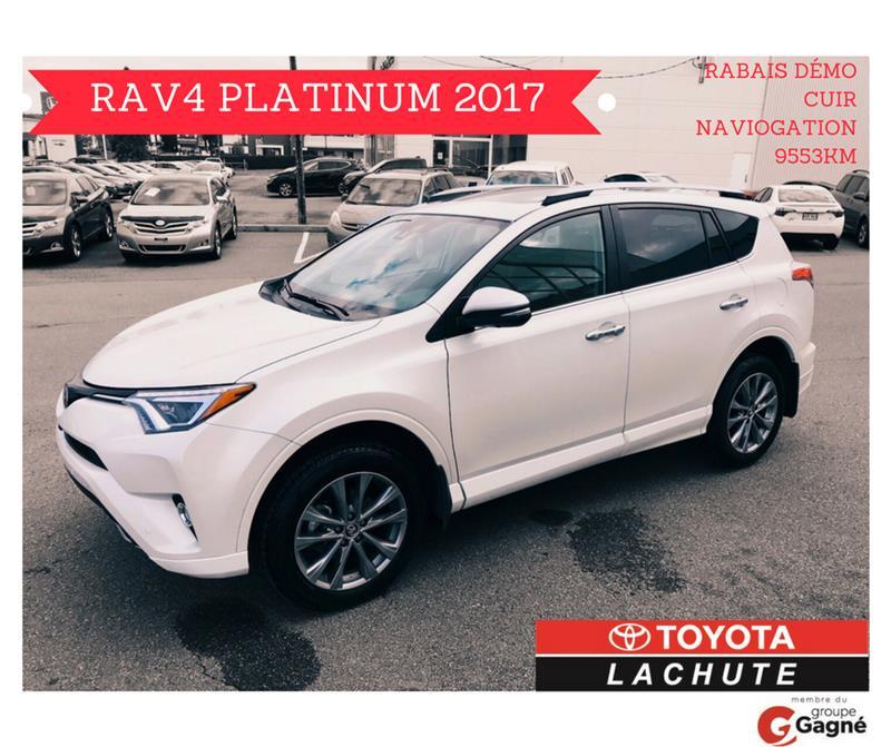 Toyota RAV4 2017 PLATINUM AWD #17-063