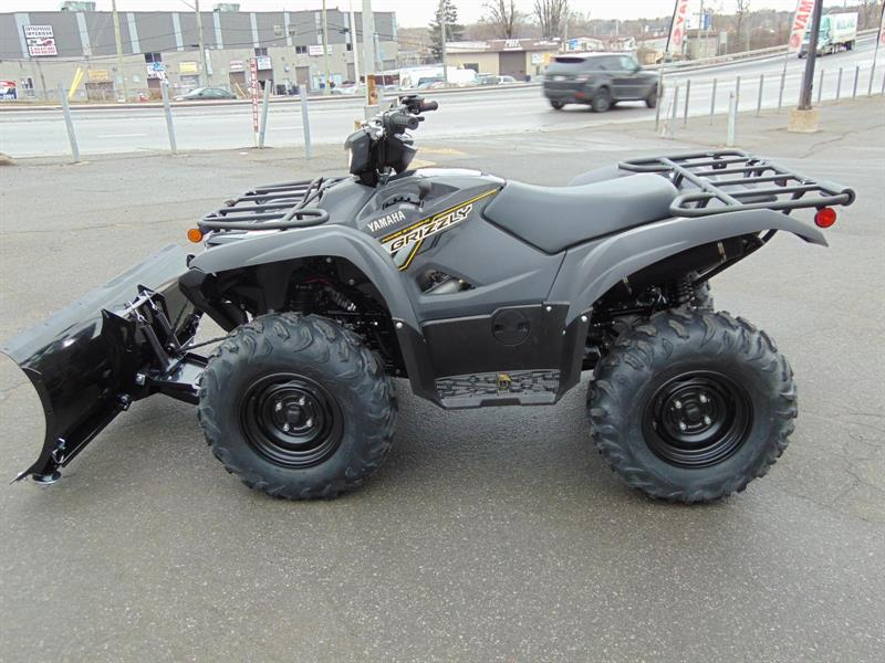 2018 yamaha grizzly 700 eps pelle a neige new for sale in laval at alex berthiaume et fils. Black Bedroom Furniture Sets. Home Design Ideas
