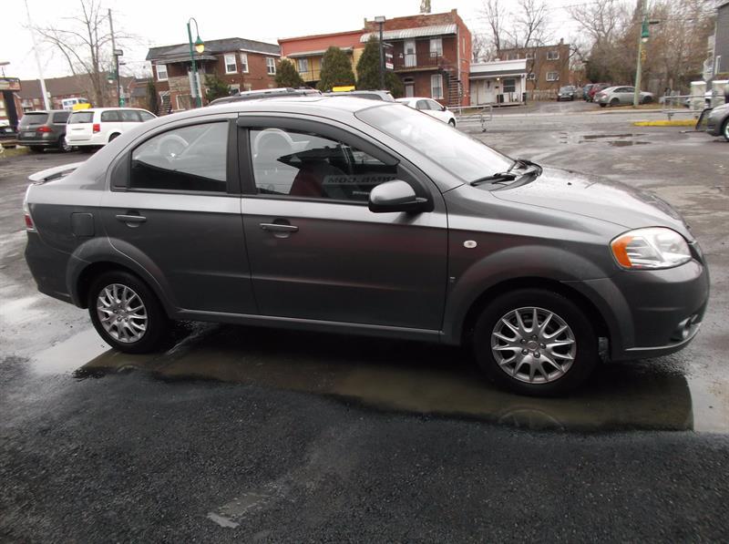 Chevrolet Aveo 4dr Sdn Lt 2008 Occasion Vendre Ville Lemoine Chez