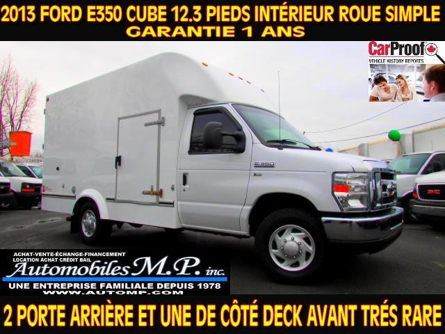 Ford E-350 2013 E-350 CUBE 12.3 PIEDIS INTÉRIEUR DECK  #N-1732