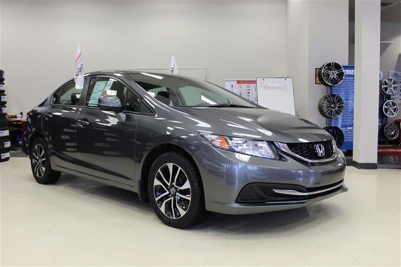 Honda Civic 2013 EX--toit ouvran, sièges chauffant, mags-- #H0906A