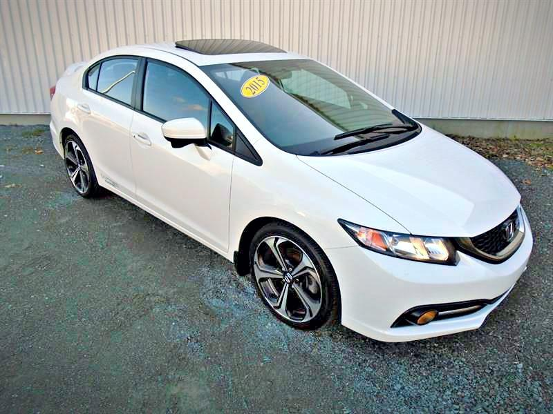 2015 Honda Civic Sedan Si Sedan #L1412