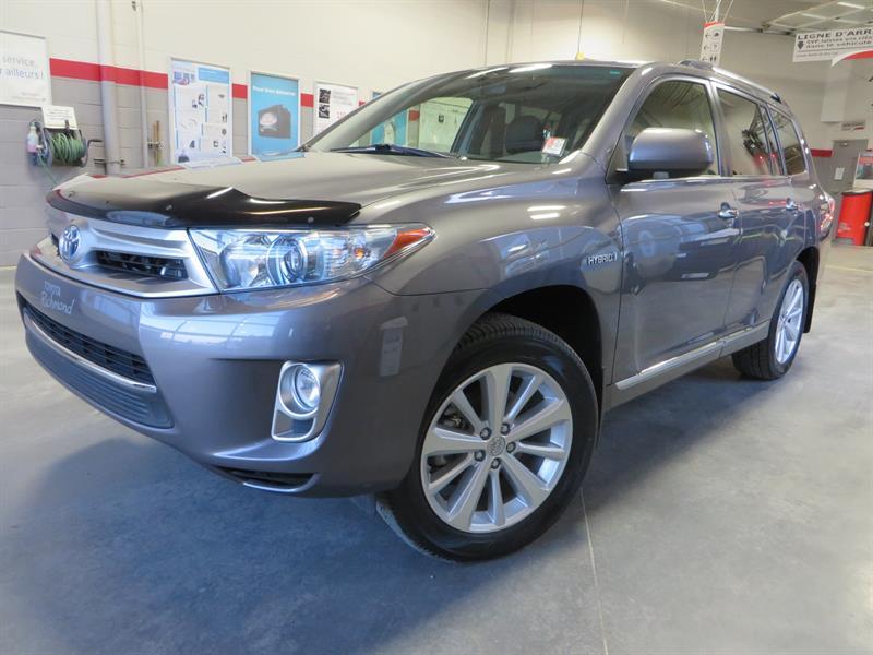 Toyota Highlander Hybrid 2012 4WD Limited *SEULEMENT 42,000 KM* #U7674
