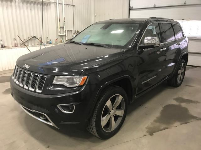 Jeep Grand Cherokee 2014 Overland *ÉCODIESEL* (TOIT PANO, CUIR,PHARES L.E.D #38482A