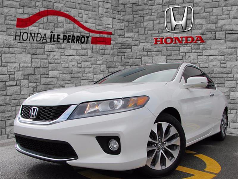Honda Accord Coupe 2014 2dr I4 CVT EX-L w-Navi  #44284