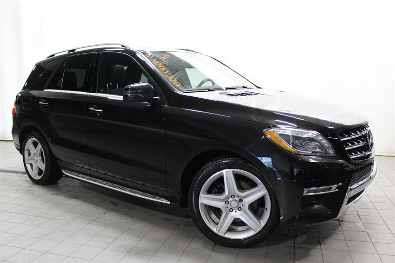 Mercedes-Benz ML350 2015 BlueTEC 4MATIC LED PREMIUM SPORT PACK #U17-450