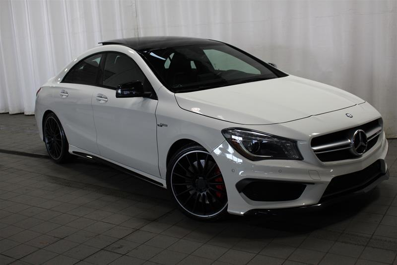 Mercedes-Benz CLA45 AMG 2016 4MATIC Coupe #U17-469