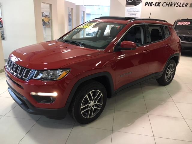 Jeep Compass 2017 NORTH 4X4 + TOIT OUVRANT + GPS #UD4356