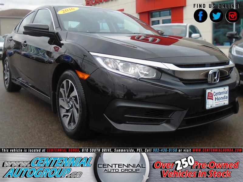 2016 Honda Civic Sedan EX | 2.0L | Bluetooth | Honda Plus #8398A