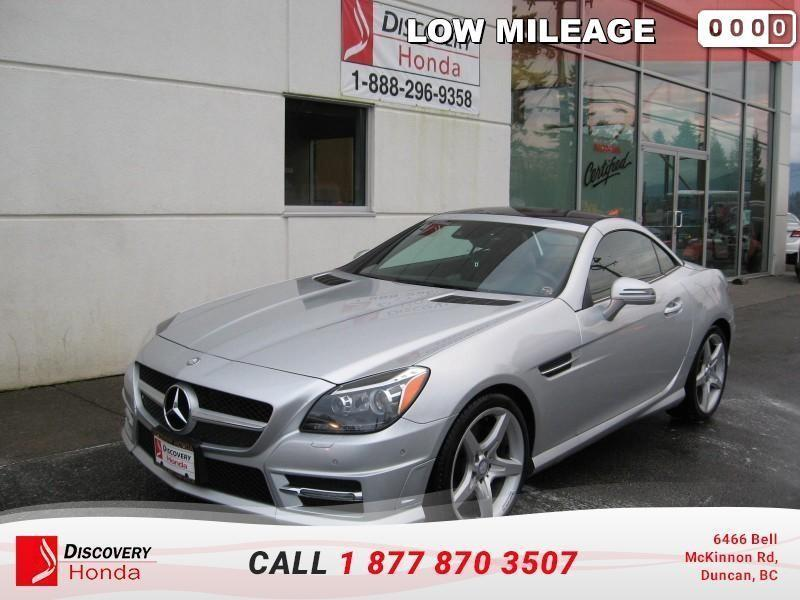 2013 Mercedes-Benz SLK-Class Roadster  - Leather Seats #18-112A