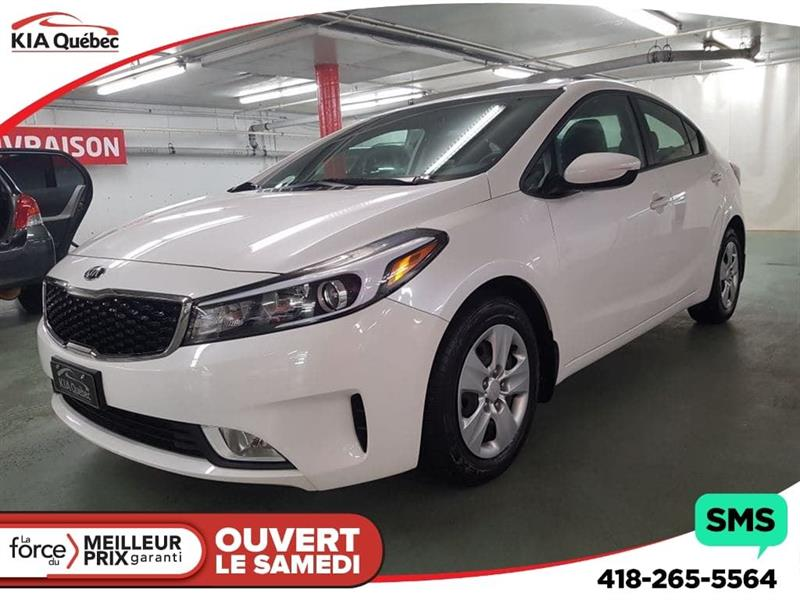 Kia Forte 2017 LX+* APPLE CARPLAY* CAMÉRA DE RECUL* BLUETOOTH #QU10035