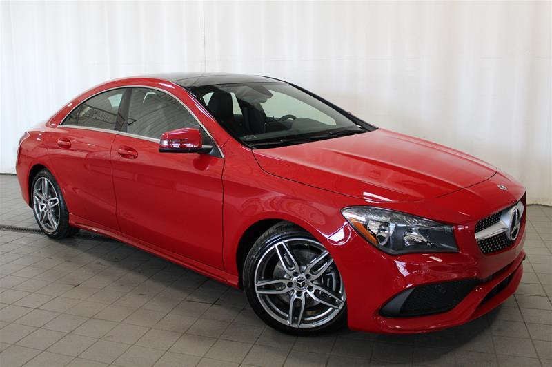 Mercedes-Benz CLA250 2018 4MATIC Coupe #18-0315