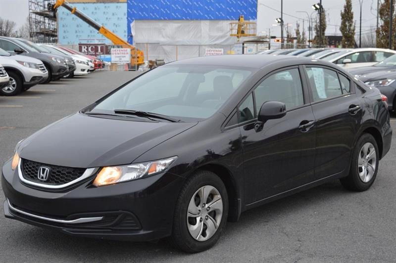 Honda Civic 2013 LX #U7915