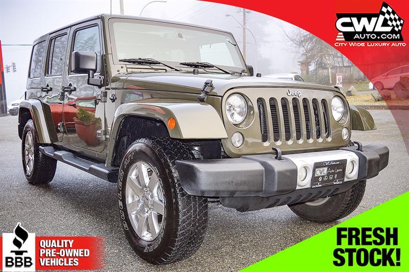 2015 Jeep Wrangler Unlimited Sahara 4WD 4DR #CWL8217M