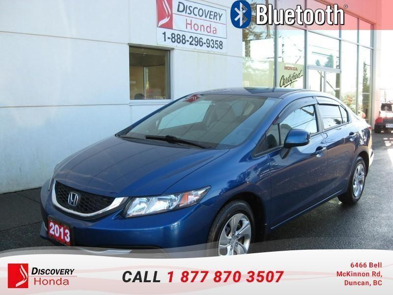 2013 Honda Civic Sedan Sedan LX 5AT  - Bluetooth #B2644