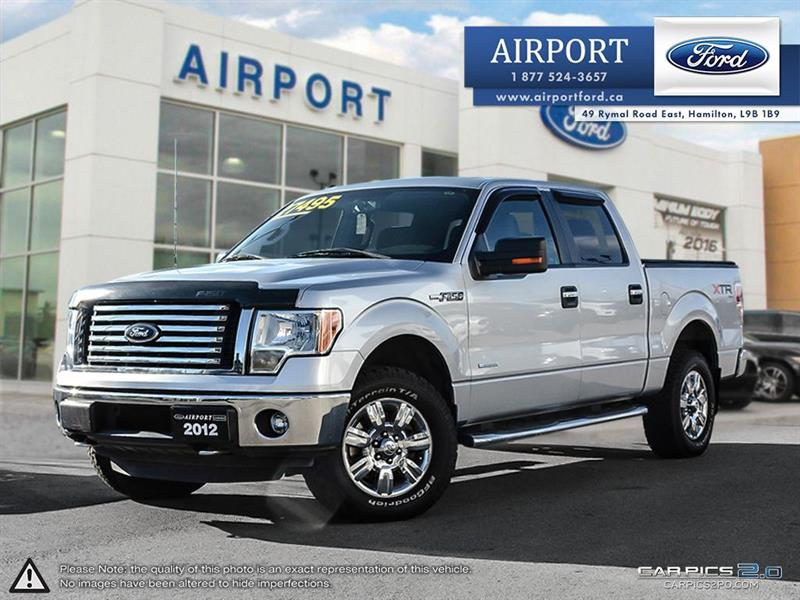 2012 Ford F-150 4WD SuperCrew #A70691