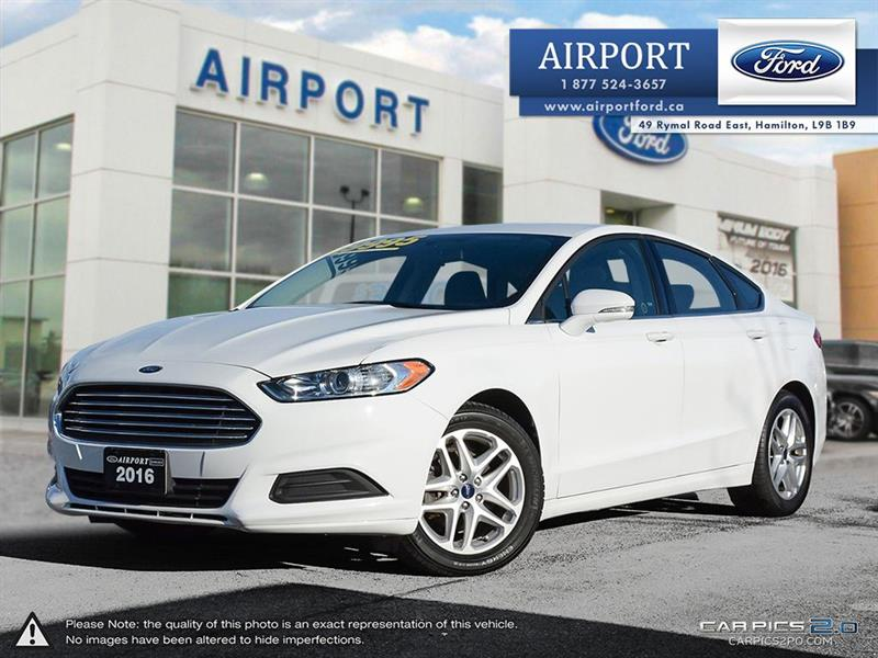 2016 Ford Fusion SE FWD 2.5L with only 70,693 kms #A71157