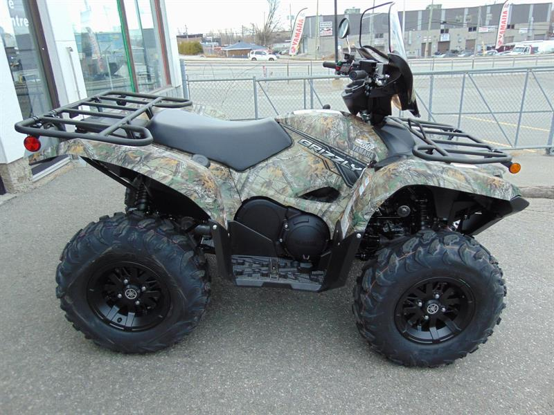 Yamaha grizzly 700 eps camo 2018 neuf vendre laval chez for 2018 yamaha grizzly 700 specs