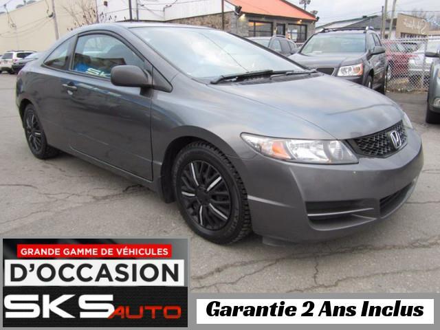 Honda Civic Cpe 2009 LX (GARANTIE 2 ANS INCLUS) *FINANCEMENT MAISON* #SKS-3991