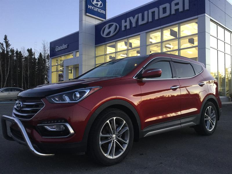 2017 Hyundai SANTA FE SPORT AWD Limited #FE7110