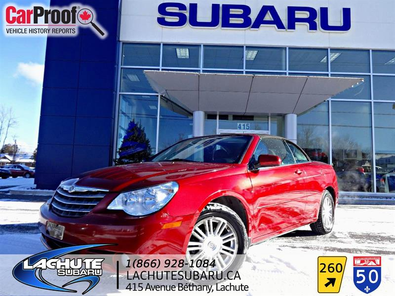 Chrysler Sebring  WOW  84000 KM CONVERTIBLE 2009 Touring #A1846B