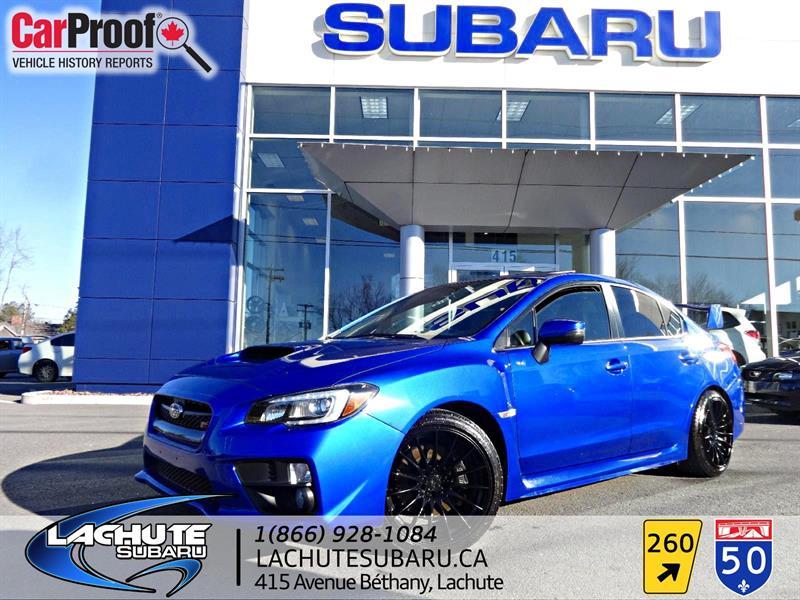 Subaru STI  SPORT TECH  CUIR,TOIT OUVRANT,GPS 2016 WOW 23000 KM #18-008A