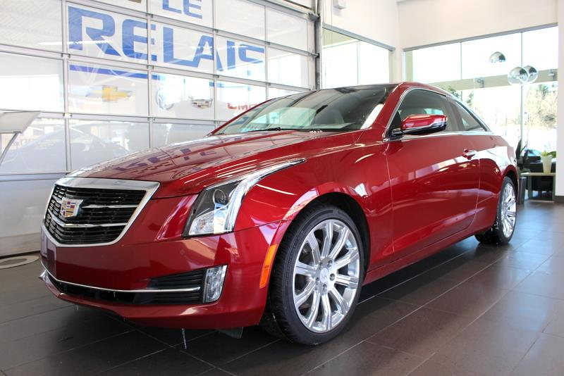 Cadillac ATS Coupe 2015 3.6L PERFORMANCE AWD #72145
